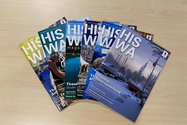 HISWA Magazine tariefkaart 2020 beschikbaar