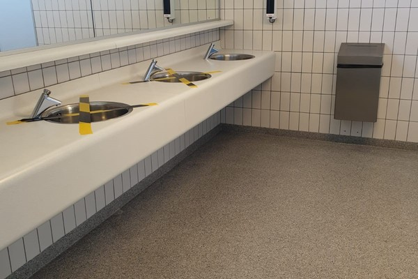 Fikse domper: ministerie sluit sanitair