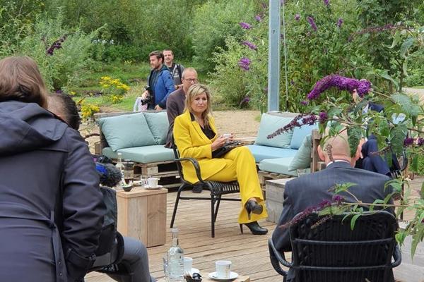 Koningin bezoekt Zeeuwse recreatiebedrijven