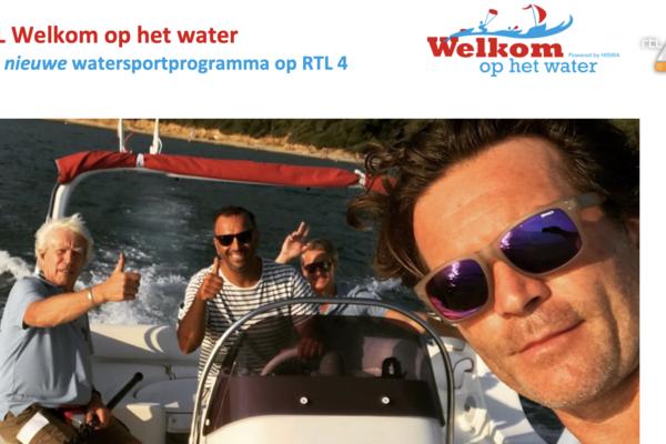 Opnames RTL Welkom op het water verplaatst naar 2021