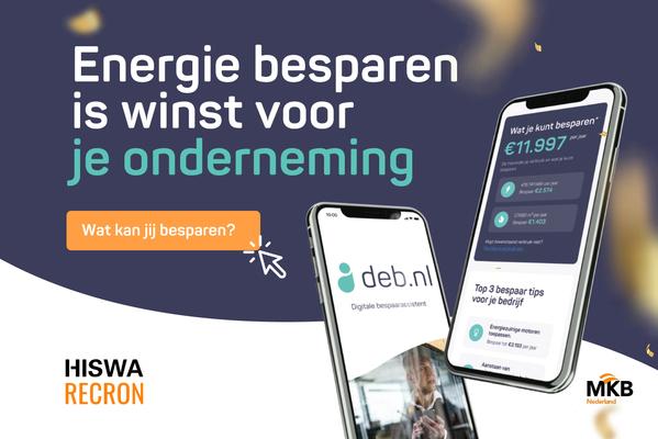 Praktische hulp voor ondernemers om energie en geld te besparen