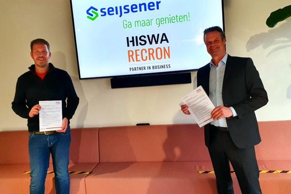 Seijsener Rekreatietechniek is HISWA-RECRON Partner in Business