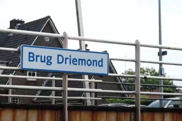 Groot onderhoud brug en sluis Driemond
